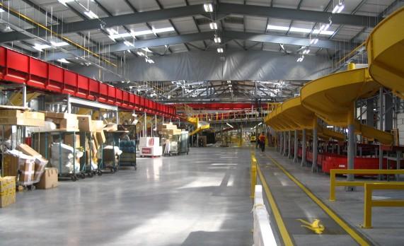 DHL Express Logistics Building